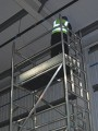 Heavy Duty Aluminium Tower 1.8m x 0.8m Base 10.4m Platform height